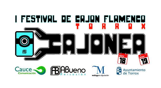 cartel Festival Cajón Flamenco